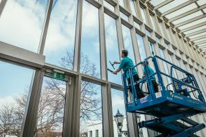 Gebäude-Service